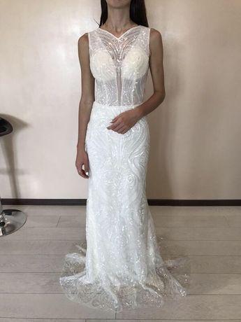 Платье свадебное новое Италия новая коллекция весільна сукня плаття