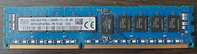 Серверная оперативная память ОЗУ Hynix 8GB DDR3 2Rx8 PC3L-12800R