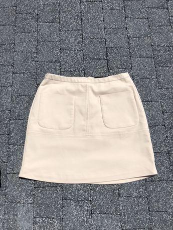 Bezowa spodnica z kieszonkami reserved XS S