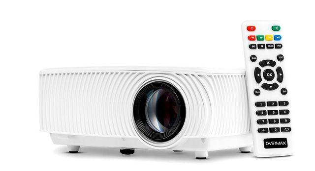 Nowy Rzutnik Projektor OVERMAX MULTIPIC 2.4 LED HD WiFi Kino Domowe FV