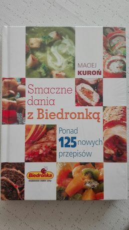 Książka Smaczne dania z Biedronką