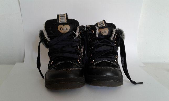 Ботиночки детские зимние размер 20