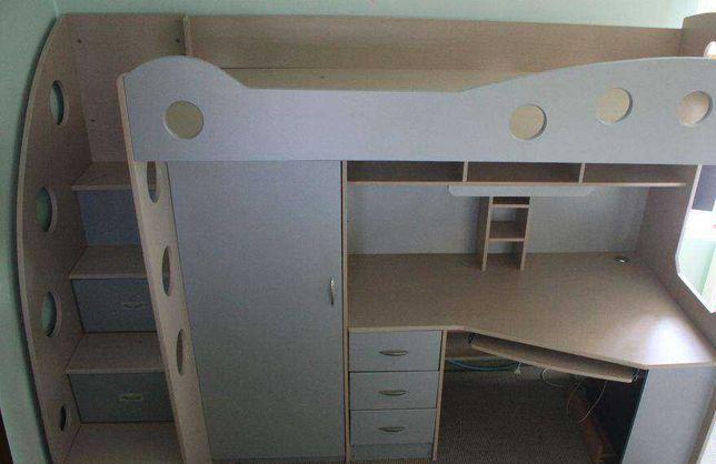 Детская мебель на 2 этажа.