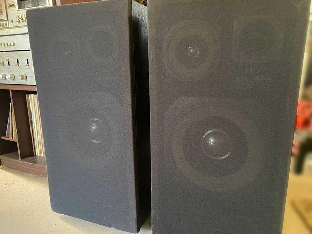 3 drożne kolumny głośnikowe Tonsil/Sanyo typu SX800 50W