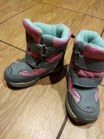 Ботинки на девочку. Зима