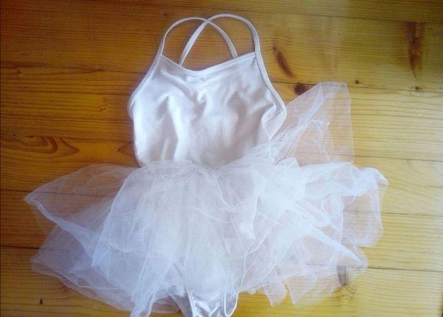 Sukienka baletnicy 110 116 h&m kostium