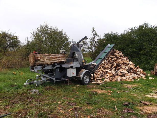 Cięcie i łupanie drewna