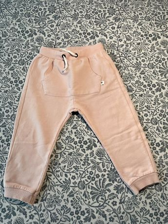 Spodnie Zara rozowe 2/3 dziewczynka