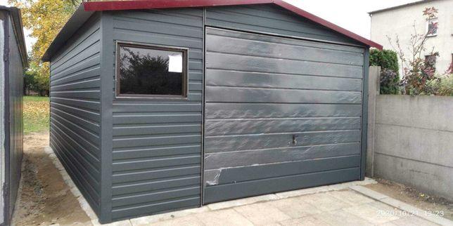 Garaż blaszany 4x5 w kolorze z palety ral