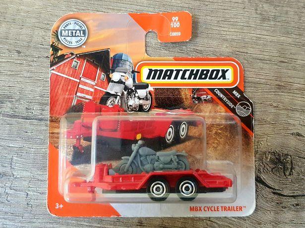 Matchbox Laweta Przyczepa Cycle Trailer , wysyłka 1zł