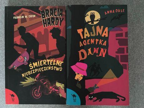 Tajna Agentka Dawn + Bracia Hardy   ZESTAW 2 książek