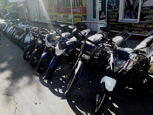 Мотоцикл (Можнов кредит) Loncin, Musstang, Lifan, Shineray, Bajaj