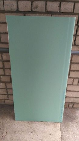 Продам влагостойкий гипсокартон (кусок размером 124 см*50см)
