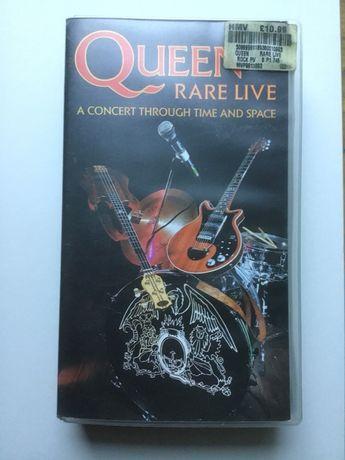 Koncert Queen na kasecie VHS