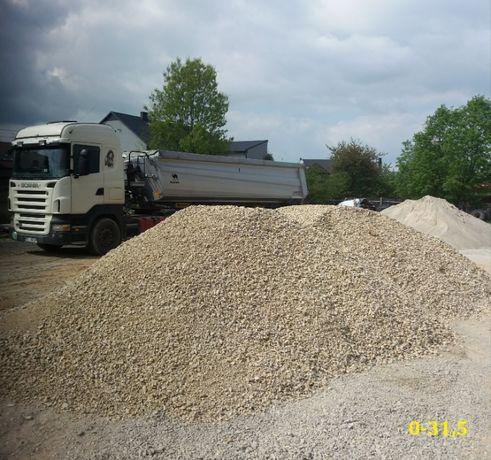 Transport i sprzedaż piasku zasypowego-budowlanego ziemi, kruszywa itp