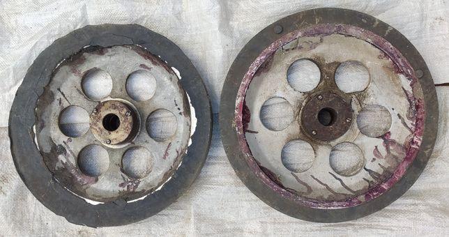 Колеса алюминий для тележки, тачки СССР