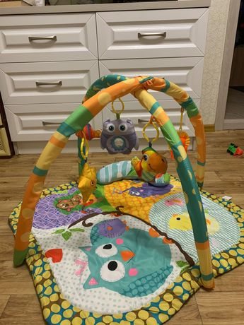 Игровой развивающий коврик, килимок