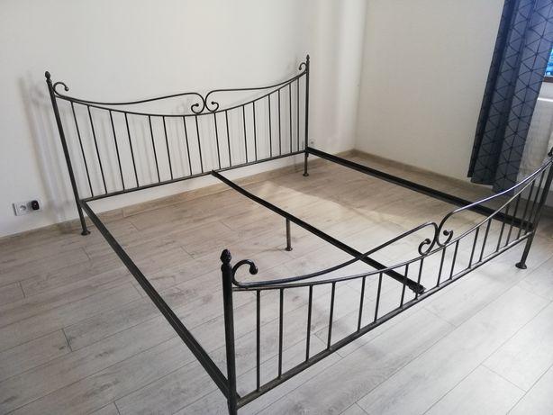 Łóżko metalowe 200x200