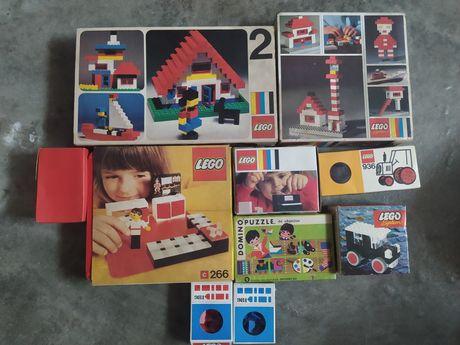 Legos antigos variados