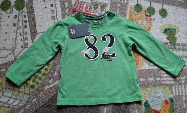 Bluzka Zara Baby 82cm 1-2 lata nowa z metką