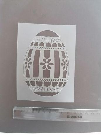 Maska szablon scrapbooking jajko wielkanocne