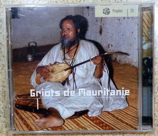 Płyta CD Griots de Mauritanie (folk z Mauretanii) PHILIPS