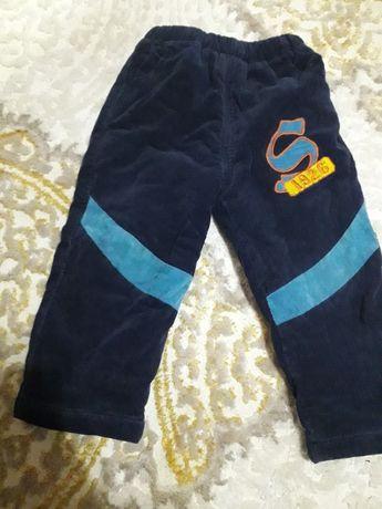 Теплі зимові штани, комбінезон на 1рік,  2-3 рочки