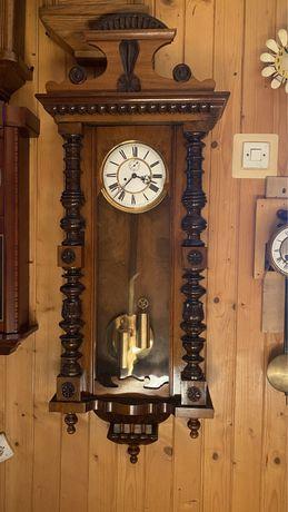 Zegar wiszący wagowy linkowy Gustav Becker