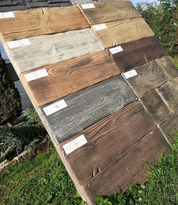 Deska tarasowa - betonowe drewno