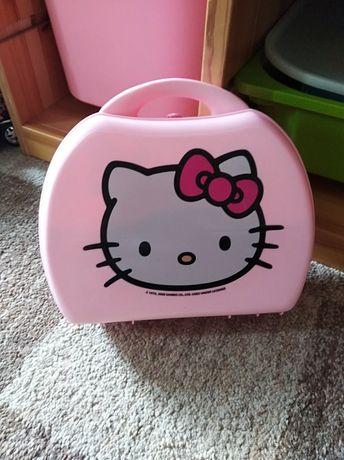 Walizka mini kuchnia Smoby Hello Kitty plus akcesoria