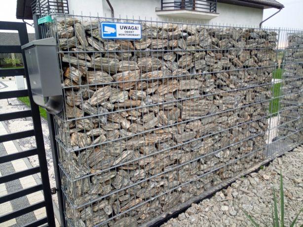 Kora kamienna, płytka laminowana do gabionów, ogrodowa, 60-250