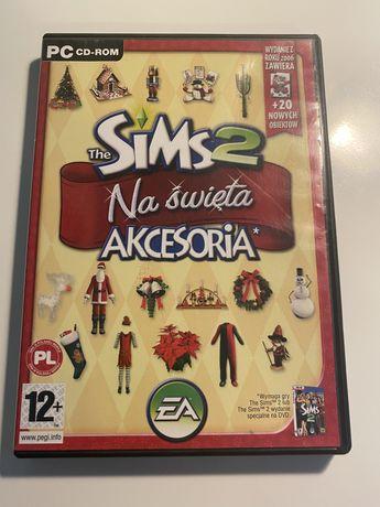 The sims 2 na święta- akcesoria