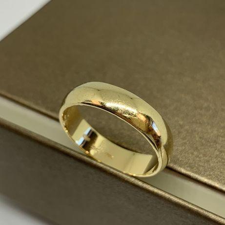 Klasyczna, złota obrączka p585 r19