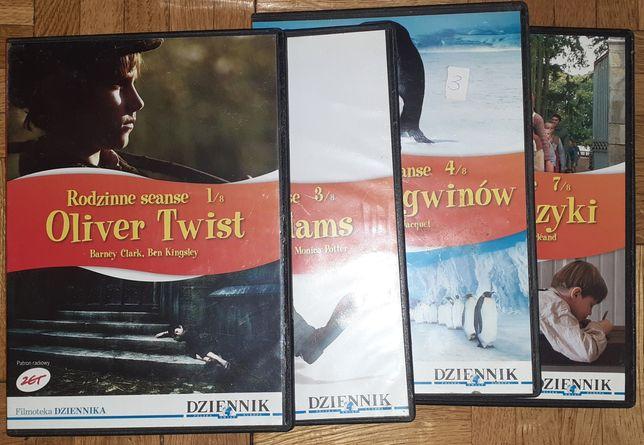 Rodzinne seanse płyty DVD
