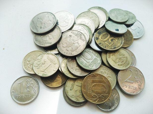 Монеты России.