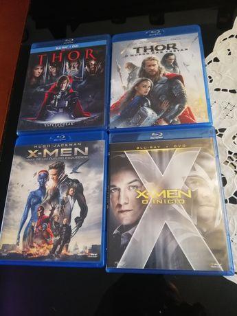 Vários filmes em blu-ray