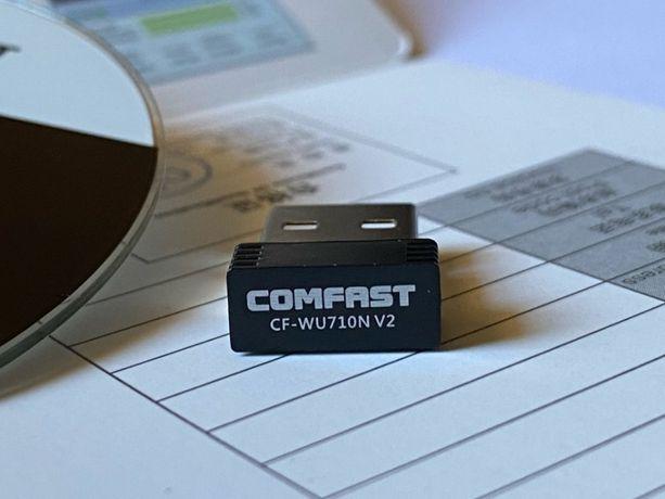 Адаптер Wi-Fi, USB COMFAST cf-wu710n v2