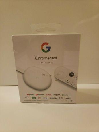 Продам Новый Google Chromecast 4K with Google TV Snow от Магазина Гара