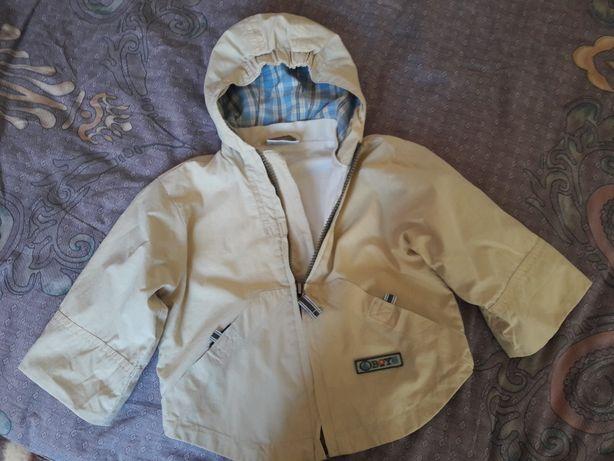 Курточка-ветровка р.86