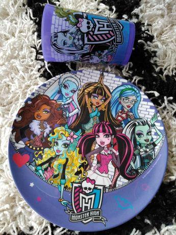 Monster High talerzyk i kubek