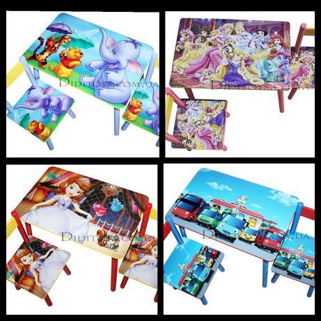 Дитячий столик від виробника. Вибір малюнків