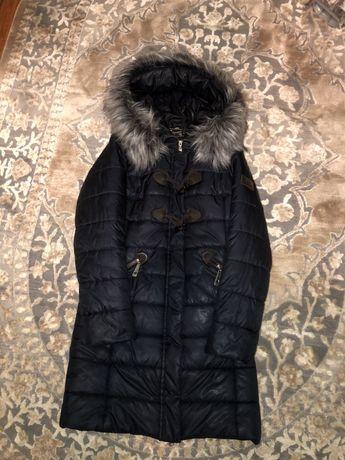 Зимова куртка-пальто