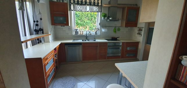 Meble kuchenne z AGD - Drewno