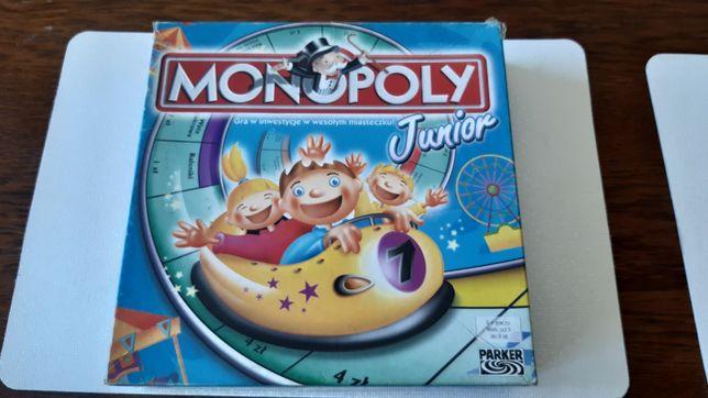 Monopoly junior gra planszowa