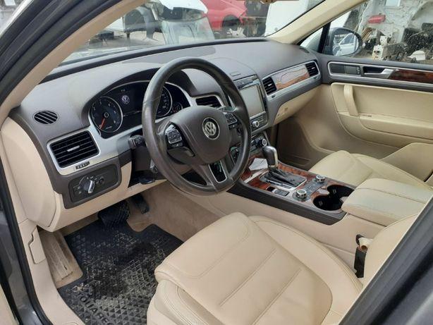 Салон Хром Накладки Дерево Volkswagen Touareg 7P NF Туарег Таурег НФ
