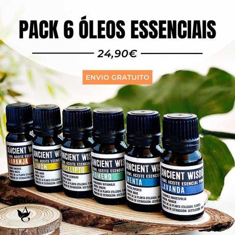 Pack 6 Óleos Essenciais 100% Naturais * Envio grátis