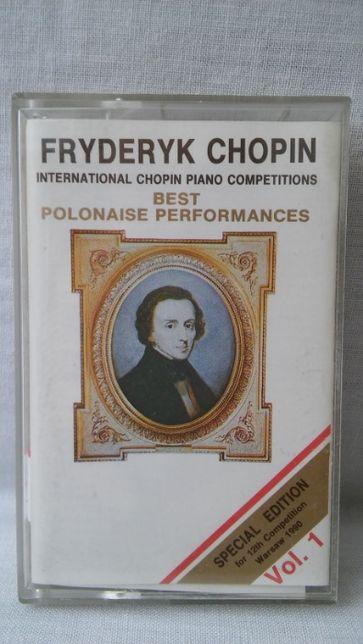 Kaseta magnetofonowa Fryderyk Chopin vol 1