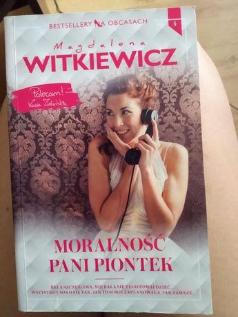"Książka ""Moralność pani Piontek"""
