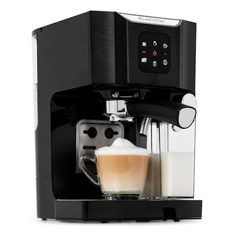 BellaVita ekspres do kawy, 1450W, 20 barów, spieniacz do mleka, 3 w 1