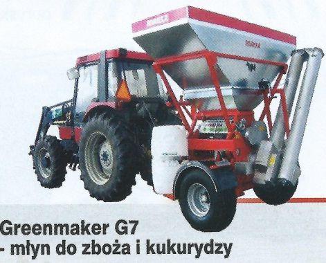 Rivakka młyn walcowy G7 do mokrej kukurydzy, Pneumatyczny Gniotownik